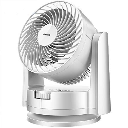 YouYou-YC Elektrische ventilator, stille tafelventilator, kleine huishoudventilator, kleine en mooie convectieventilator