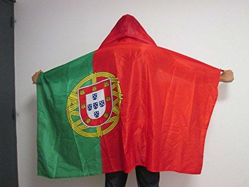 AZ FLAG UMHANGFLAGGE Portugal 150x90cm - PORTUGIESISCHE Cape Fahne 90 x 150 cm - flaggen