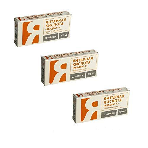 3x20 Tabletten SPARSET Bernsteinsäure...