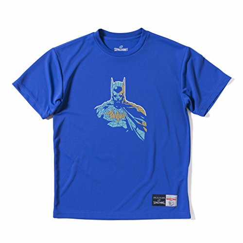 バスケット ボール ウェア 男性用 女性用 Tシャツ バットマン グラス 練習着 ジャスティスリーグ(バットマン) SMT170190 ロイヤルブルー M