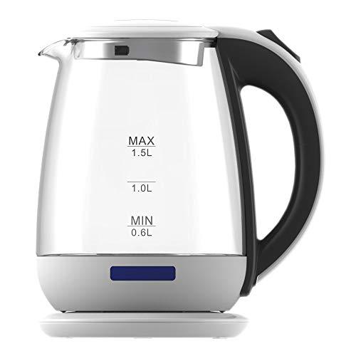Cloer chauffe-eau 4721 en acier inoxydable-Blanc 1 L Capacité 1.800 W