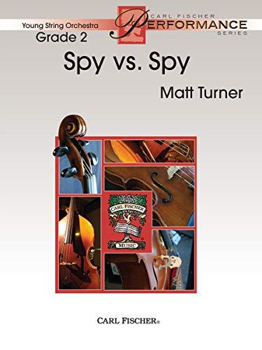 Spy Vs. Spy Orchestre-Partition+Parties Separees