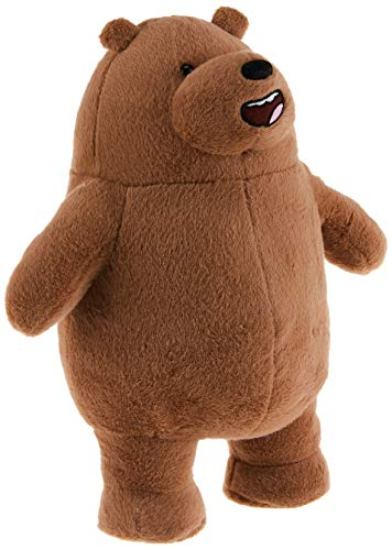 GUND We Bare Bears Standing Grizz Stuffed Plush Bear, 11'