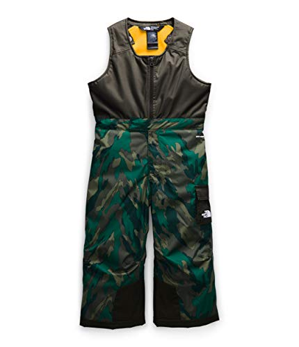 The North Face Toddler Insulated Bib, Evergreen Mountain Camo Print, 6T
