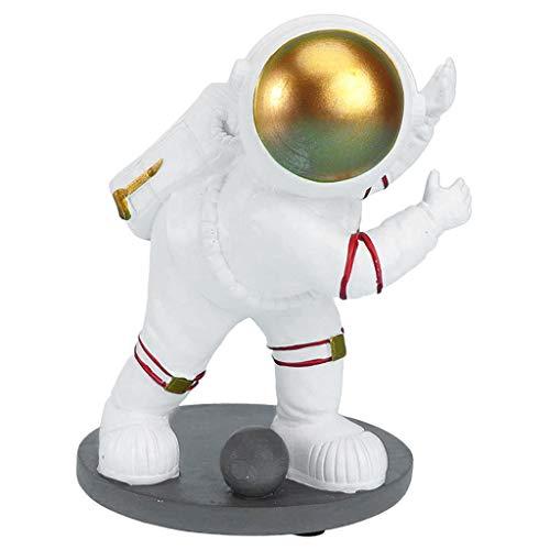 Escultura de La Estatua del Astronauta de La Resina de La Pieza Central de La Encimera del Sostenedor de La Botella de Vino de - Estilo B, Individual