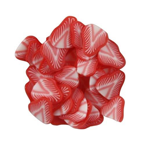 Nagelsticker 3D Nagel Kunst Fruchtscheibe Kristallschlammkleber Transparente Kristallmischung Nagelzubehör DIY Nail Art Aufkleber Dekoration (A)