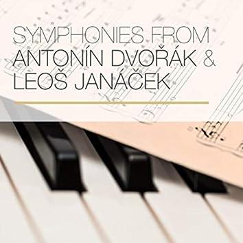 Symphonies from Antonín Dvořák & Leoš Janáček