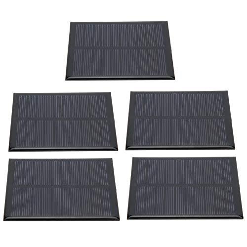 DAUERHAFT Módulo de Placa Mini Panel Solar 90 x 70MM DC5V 160mA para Camping, para Energía de Batería para Coche para Caravanas