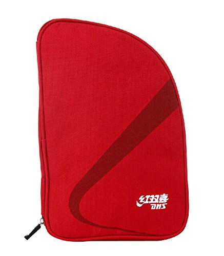For Sale! PANDA SUPERSTORE Red Fan-Shaped Table Tennis Racket Case Bag