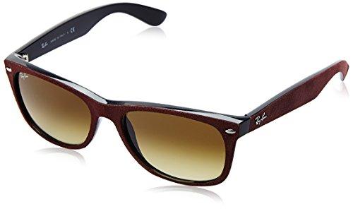 Ray-Ban Herren Rb 2132 Sonnenbrille, Red Alcantara, Large (Herstellergröße: 58)