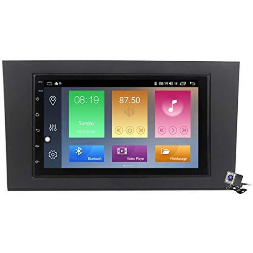 XBRMMM Pantalla Táctil De 9 Pulgadas 2 DIN Android 9.1 Estéreo para Automóvil para Audi A4 2002-2008 Radio con Navegación GPS Integrado DSP FM RDS Soporte Bluetooth/SWC/MirrorLink
