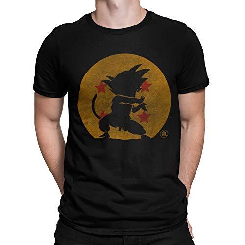 Camisetas La Colmena 2202-Kame Hame Ha - Bola Abuelo - (Melonseta) XL