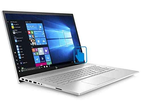 HP Envy 17t 10th Gen Touch Home and Entertainment Laptop (Intel i7-10510U 4-Core, 16GB RAM, 512GB m.2 SATA SSD + 2TB HDD, NVIDIA MX250, 17.3' Touch Full HD (1920x1080), WiFi, Win 10 Pro) (Renewed)