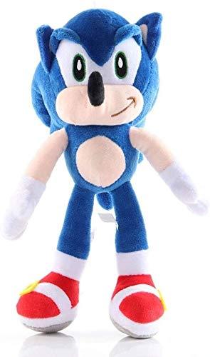 ULIN Amy/Silver/Talsnak/Knuckles/Miles/Pink Shadow Peluches Sonic The Hedgehog Figuras de Anime Marioneta de Felpa de Dibujos Animados 3+ Muñeca de cumpleaños de Peluche Suave para niños (Talsnak)