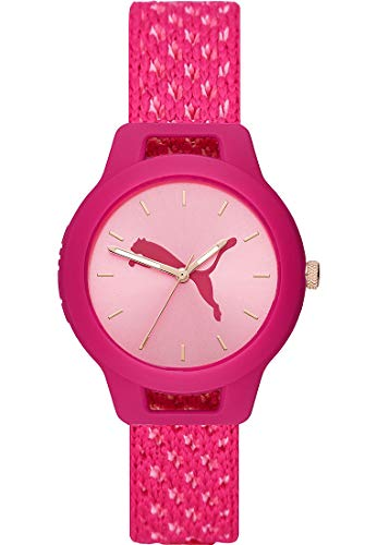 Puma Damen-Uhren Analog Quarz One Size Pink 32013297