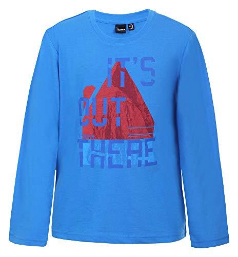 Icepeak KONZ JR Chemise Garçon, Bleu Ciel, FR : XL (Taille Fabricant : 152)