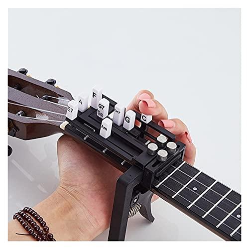 PJFYMG Portátil Ukelele Finger Extensor Ejercitor Fortalecimiento de Chord Trainer Hawaiian Guitar Uke Aprendizaje Herramientas asistidas para la formación