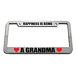 Speedy Pros personalized bling license plate frames