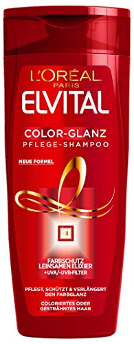 L'Oréal Paris Elvital Shampoo Color-Glanz, 3er Pack (3 x 300 ml)