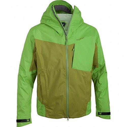 SALEWA Jacke Kechu PTX M Jacket - Chubasquero para Hombre, Color Verde...