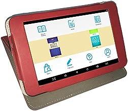 Azpen A747 My E-Bible eReader Tablet, NKJV & NIV with Narration & Leather Case (Red)