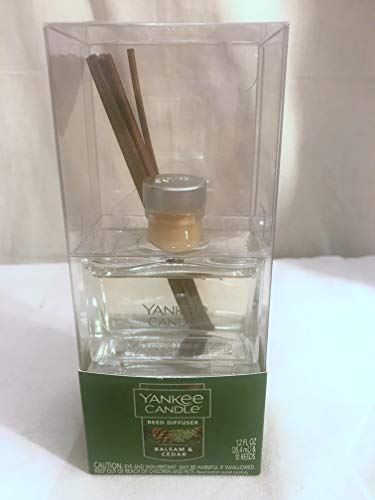 Yankee Candle 1220955 Balsam and Cedar 1.2 oz Signature Reed Diffuser