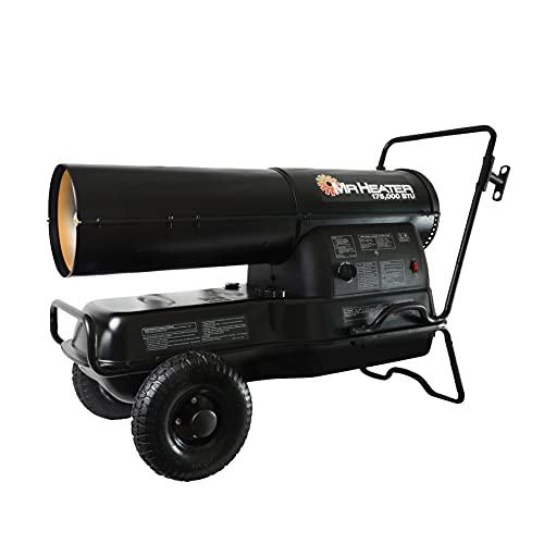 Mr. Heater 175,000-BTU Forced-Air Kerosene Heater,...