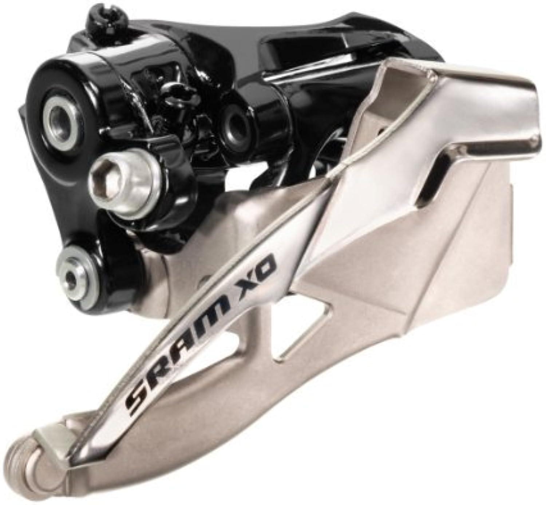 Sram MTB X0 Front Derailleur, 2 x 10 Speed 31.8 mm High Clamp Dual Pull by Sram MTB