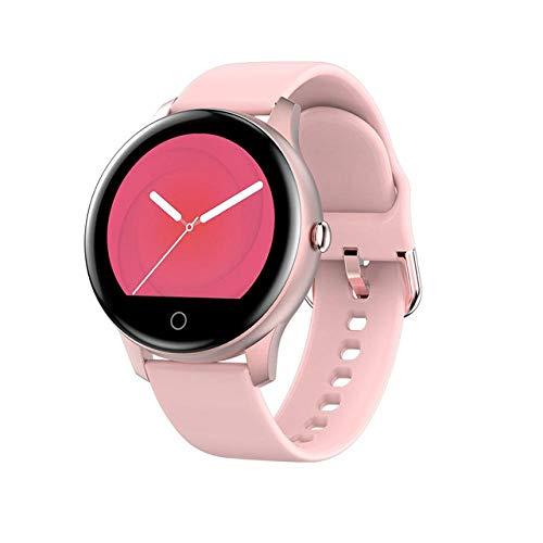 GUOJIAYI Bluetooth chiamata smart orologi e uomini e donne impermeabile orologi intelligenti rosa