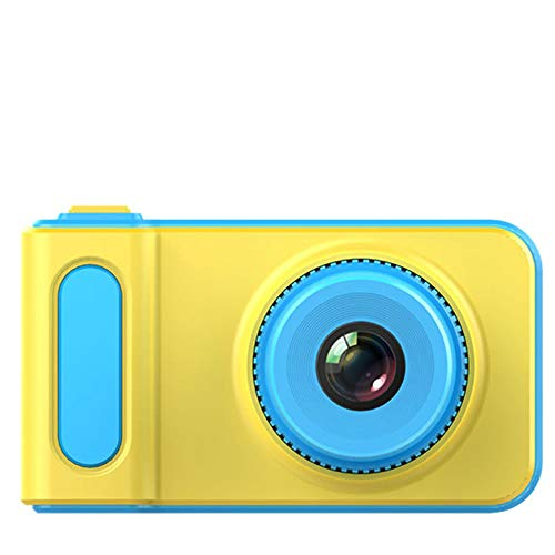 Belleashy Videocámara para niños Cámara Infantil CamKing para niños Cámara Digital Mini Pantalla de 2,0 Pulgadas para fotografiar (Color : Blue)