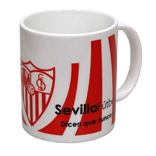 Sevilla FC Taza de cerámica en Caja de Sevilla FC