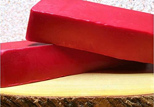 AlcoFermBrew Cera de queso rojo 1 kg - Revestimiento de queso   Queso encerado   Cera de grado alimenticio   Wax de queso   Cera para queso