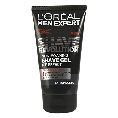 L'Oreal Paris, Men Expert Shave Revolution für Männer, gleitfähiges Rasiergel, 150ml
