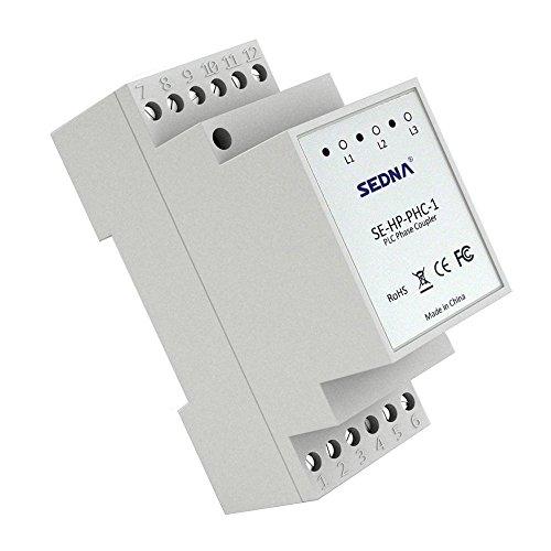 SEDNA - Coupleur de phase de ligne électrique pour adaptateurs de prise domestique.