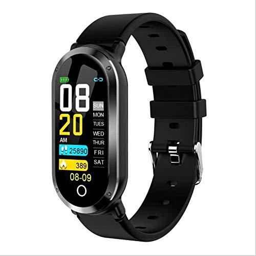 ZHENAO Rastreador de Fitness T11 Pulsera de Fitness Inteligente, Reloj de Deporte de Color de 0,96 Pulgadas con Ritmo Cardíaco Actividad Banda de Seguimiento para Hombres para Hombr