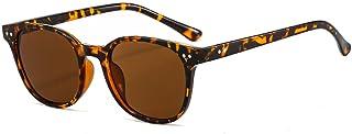 Gosunfly - Gafas de sol para mujer, de moda, para hombre, con personalidad transparente, gafas de sol transparentes-Bean curd tea_Como se muestra