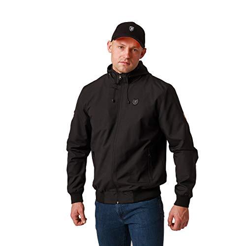 PG Wear Full Face Jacket Capo Black L
