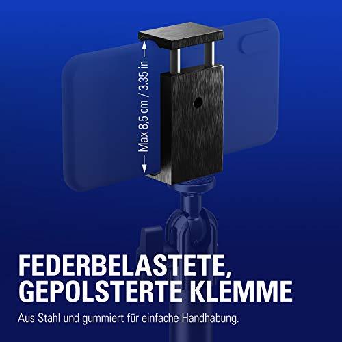 Elgato Smartphone Holder (gepolstert geeignet für Smartphones bis 8.5 cm Breite, Kompatibel mit allen Elgato Multi Mount Geräten), schwarz