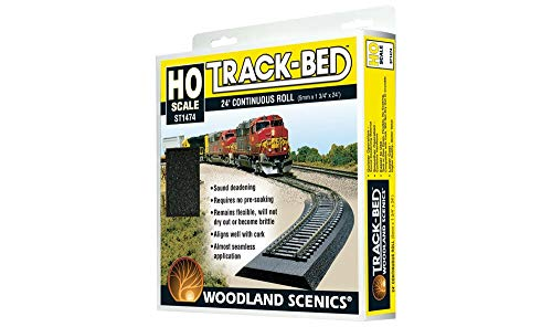 Woodland Scenics HO Scale Track-Bed Roll
