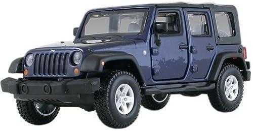 Ven a elegir tu propio estilo deportivo. Jeep Wrangler Unlimited Rubicon 4 Doors azul 1 32 32 32 by BBurago 43012 by BBurago  varios tamaños