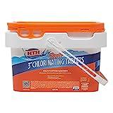 HTH 42042 Super 3' Tablets Swimming Pool Chlorine, 5 lbs