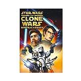 Póster de la serie de animación Star Wars The Clone Wars temporada 6 de la temporada de la 6 de la pared, para la decoración de la sala de estar, dormitorio, 40 x 60 cm, sin marco: 1