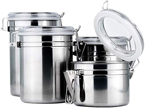 trust Food Storage Canisters Jars Mail order Stainless Steel Kitchen Canister Jar