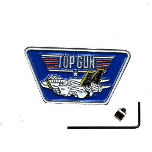 USA Top Gun Fighter Jet Pin inkl.Sicherheitsverschluss Button Pins Anstecker 604