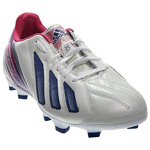 adidas Womens F30 TRX FG Soccer Shoes (White/Ink/Pink) 8.5