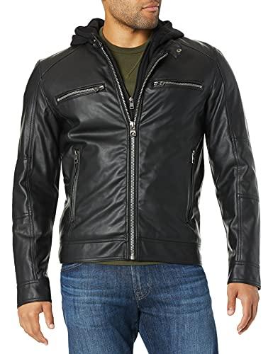 Men's Leather Moto Jacket