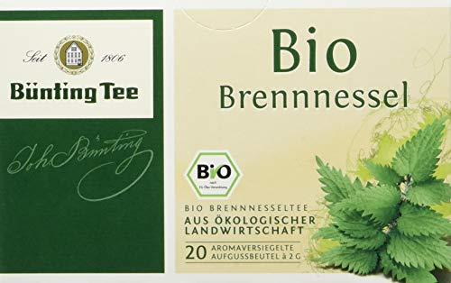 Bünting Tee Bio Brennnessel 20 x 2g Beutel (1 x 40 g)