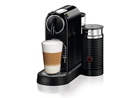 De'Longhi CitiZ Drip Coffee Maker 1L Schwarz–Kaffeemaschine (autonome, semi-automática, Drip Coffee Maker, Coffee Capsule, Cappuccino, Espresso, Lungo, schwarz)