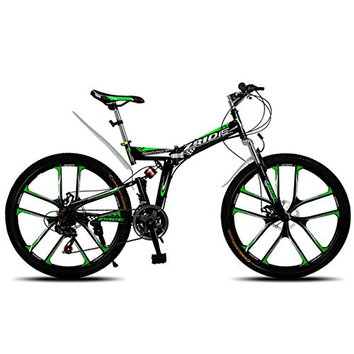 TX Bicicleta De Montaña Plegable De 26 Pulgadas 21 24 27 30...