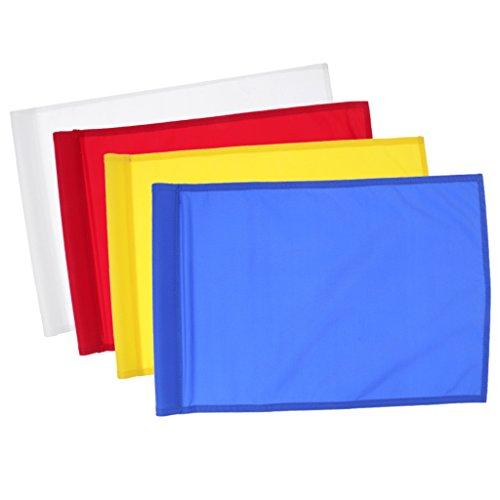 4 Unidades de Banderas Estándares de Golf para Juegos y Ejercicios